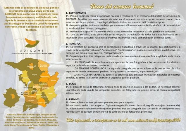 Fotoparticipa 2016 sigue recibiendo aportaciones de la comarca title=