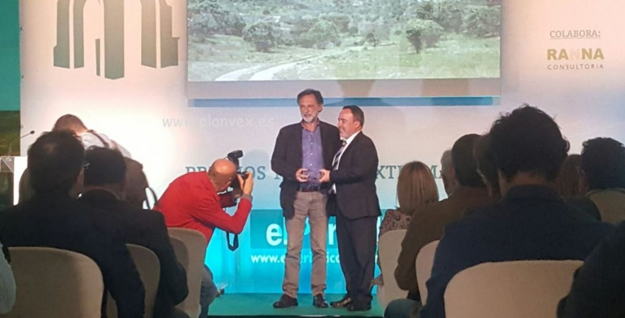 REDEX ha sido galardonada con el Premio de Turismo Rural del Periodico Extremadura