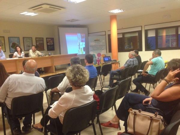 El Ceder Campiña Sur mantiene reuniones sectoriales para la validación  de la estrategia de desarrollo title=