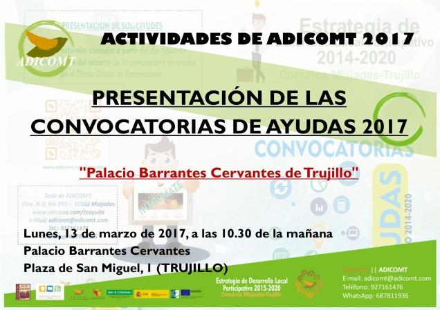 ADICOMT presenta las primeras convocatorias de ayudas para la Estrategia de Desarrollo Local Participativo LEADER 2014-2020 title=
