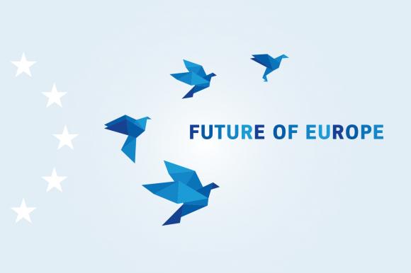 La Comisión Europea presenta el Libro Blanco sobre el futuro de Europa: Vías para la unidad de la UE de 27 Estados miembros. title=