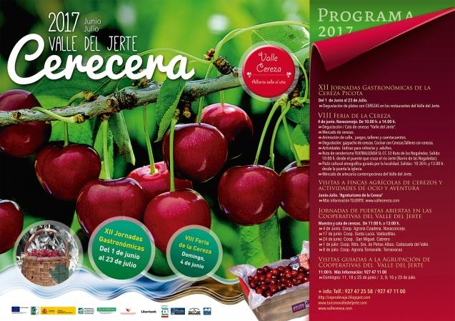 El Valle del Jerte organiza dos meses de actividades en torno a su cereza title=