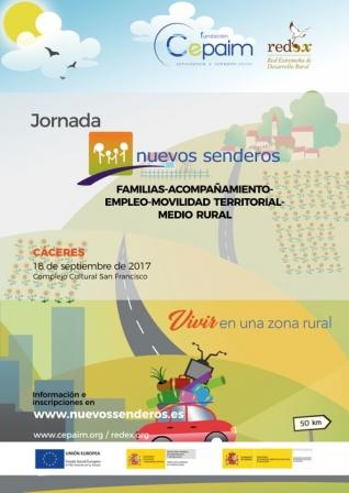 Jornadas Nuevos Senderos Cáceres 2017 title=