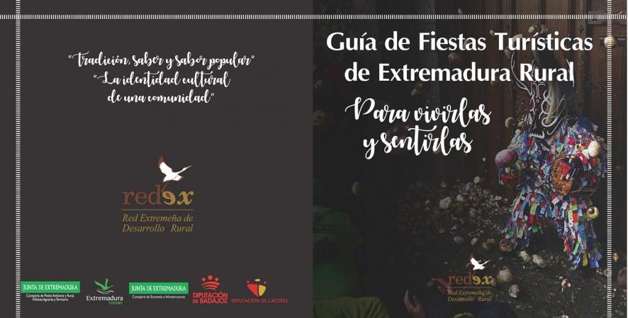 REDEX PRESENTA EN FITUR 2018 LA GUÍA DE FIESTAS TURISTICAS DE EXTREMADURA RURAL title=