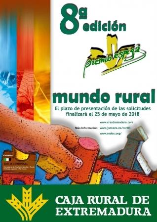 """AMPLIADO EL PLAZO DE PRESENTACIÓN DE PROYECTOS A LA VIII EDICIÓN """"PREMIO ESPIGA"""" MUNDO RURAL title="""