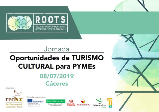 """El próximo 8 de julio se celebrará en Cáceres la jornada """"Oportunidades de TURISMO CULTURAL para PYMEs"""" title="""
