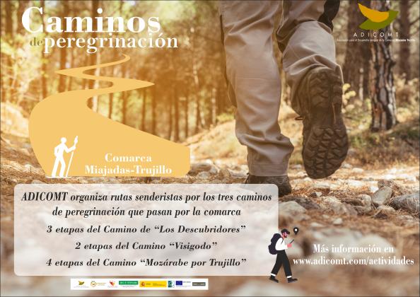 """Recorrer los """"Caminos de Peregrinación"""" por la Miajadas-Trujillo"""