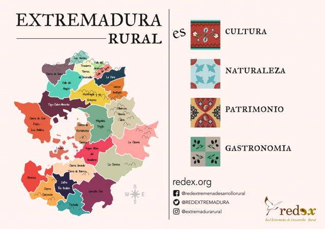 Descubre la Extremadura rural con REDEX title=