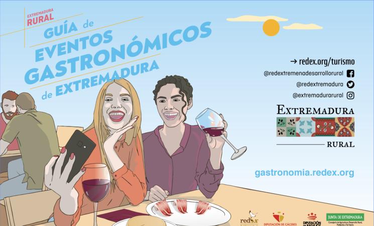 Redex presenta en FITUR la guía de eventos gastronómicos de las comarcas extremeñas title=