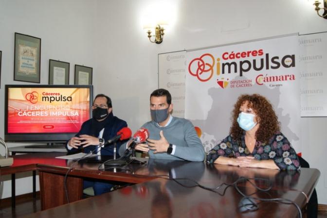 Cáceres Impulsa celebra su I Encuentro con futuros interesados en instalar su proyecto laboral y de vida en la provincia de Cáceres title=