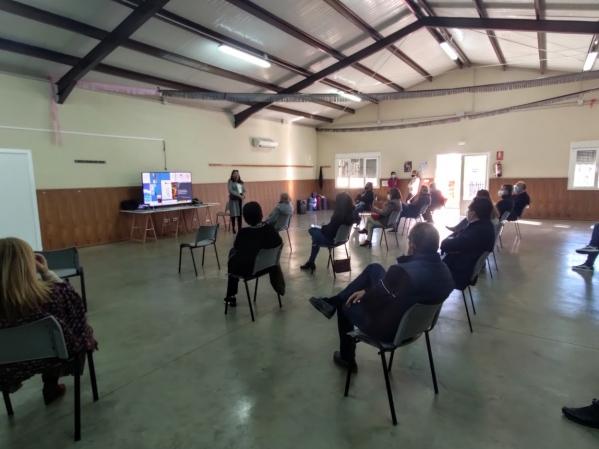 ADICOMT se reúne con los alcaldes y alcaldesas Comarca Miajadas Trujillo title=