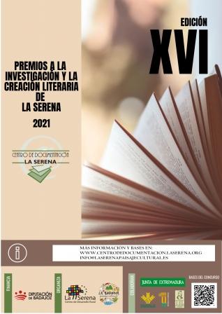 XVI PREMIOS A LA INVESTIGACIÓN Y LA CREACIÓN LITERARIA DE LA SERENA. LSPC 2021 title=